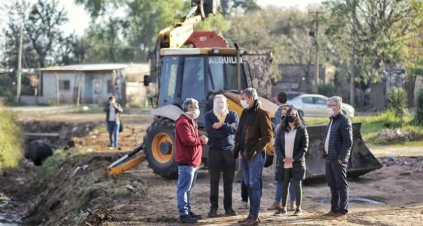 La Municipalidad comienza las obras en el Camino Viejo a Esperanza