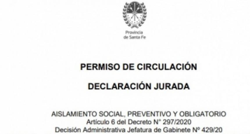 Santa Fe: ¿es necesario sacar un nuevo permiso de circulación?