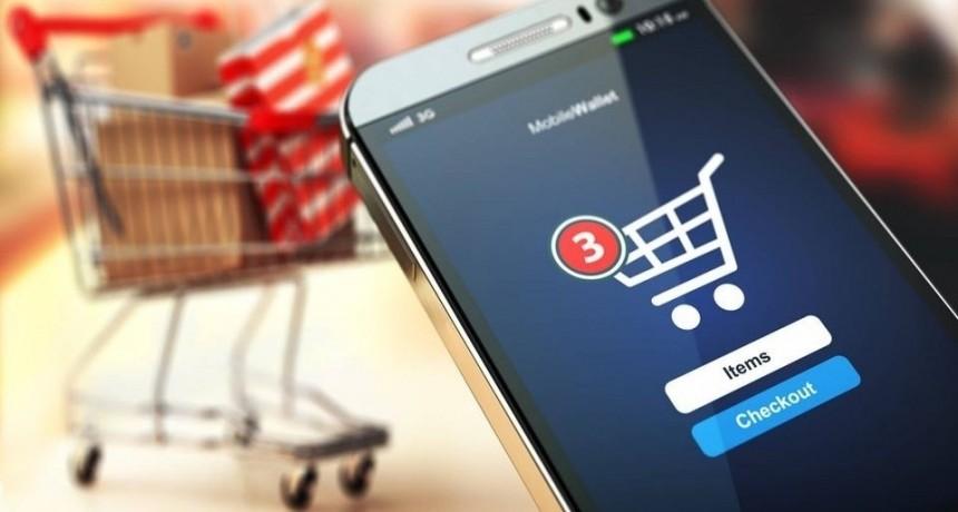 Aumentaron 84% las compras online en abril