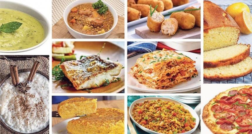 Estas son las recetas más buscadas por los argentinos en Internet