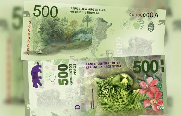 Cuenta regresiva para la puesta en marcha de los billetes de 500 pesos