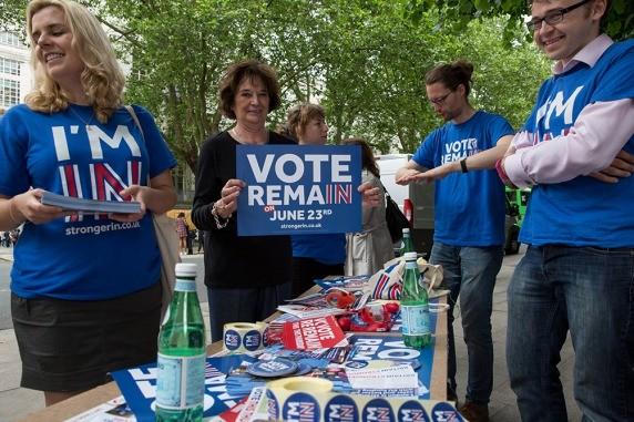 Más de 1,4 millones de británicos piden un nuevo referéndum de adhesión a la UE