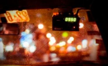 Violento intento de robo a un taxista