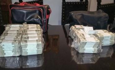 López llevaba 8.982.000 dólares cuando fue detenido en General Rodríguez