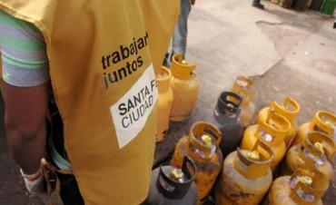 Continúa el expendio de garrafas a 100 pesos en distintos puntos de la Ciudad