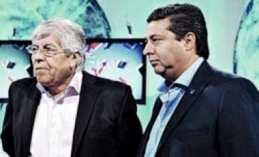 Angelici y Moyano serán encargados de negociar con el gobierno el dinero de la TV