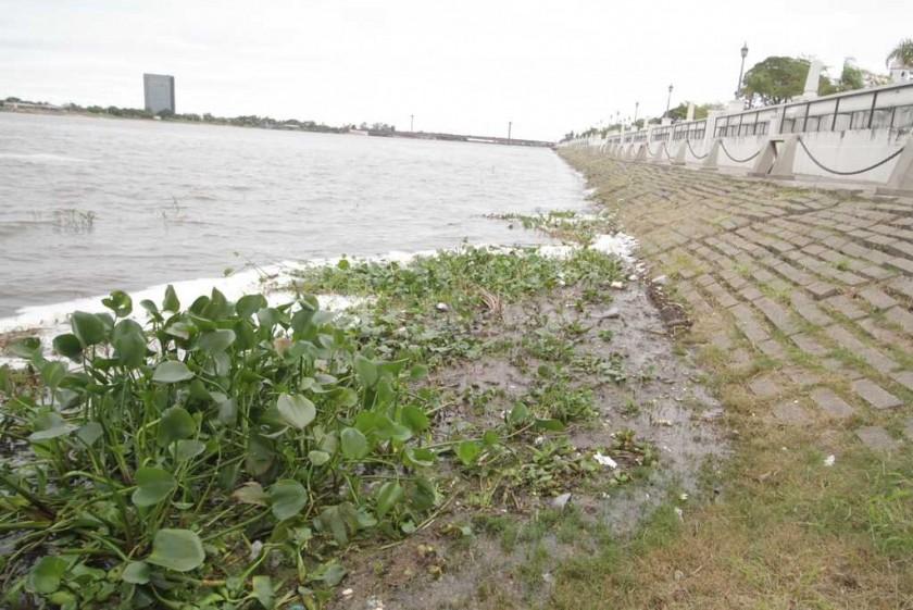 El río Paraná ya superó los 5 metros en el puerto de Santa Fe