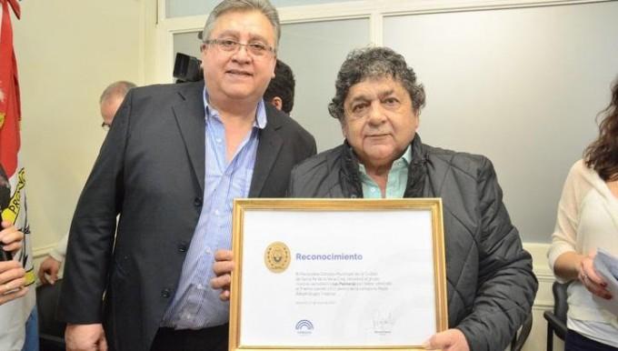"""El Concejo Municipal reconoció a """"Los Palmeras"""" por el Premio Gardel 2017"""