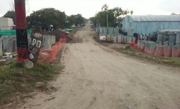 Comienza la construcción de la conexión vial entre Chalet y Centenario