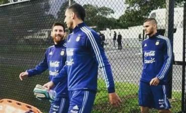 Los más buscados: Messi e Icardi ya se entrenan a las órdenes de Sampaoli