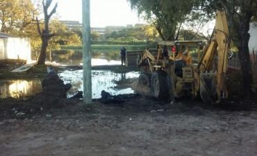 Inició un operativo especial para monitorear defensas ante la crecida del río Paraná