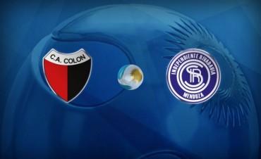 Colón debuta en la Copa Argentina ante Independiente Rivadavia