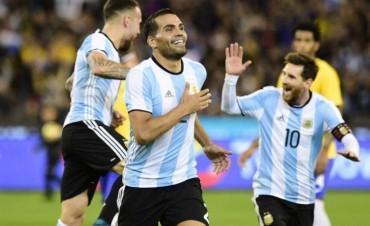 Argentina le ganó a Brasil en el debut de Sampaoli