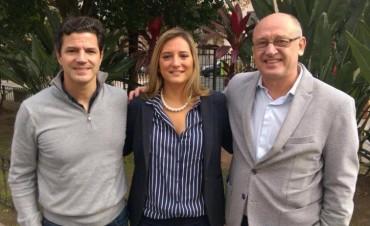 Albor Cantard, Luciano Laspina y Lucila Lehmann son el equipo del cambio en Santa Fe