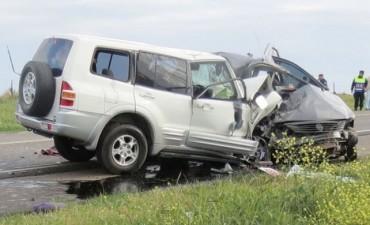 Murieron 15 personas por día en el país en accidentes de tránsito en 2016