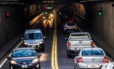 Más de 46.000 vehículos transitaron por el Túnel Subfluvial durante el fin de semana