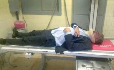Un taxista golpeó a uno de los abogados de Cristina Fernández