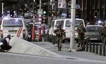 Frustran atentado en el centro de Bruselas