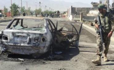 Atentado suicida en un banco de Afganistán