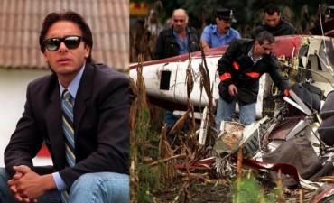 Exhumaron los restos de Carlitos Menem Jr.