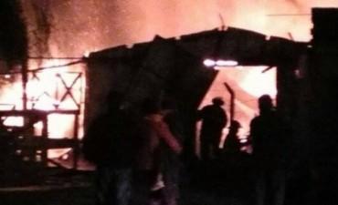Una nena de 7 años murió tras el incendio de una casa en Saladero Cabal