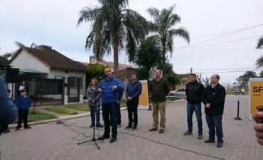 Inauguraron nuevas cuadras de pavimento articulado en el norte de la ciudad