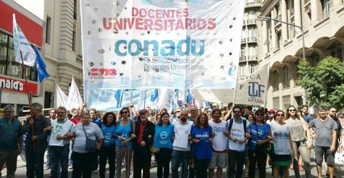 Docentes Universitarios no comenzarán el 2do cuatrimestre