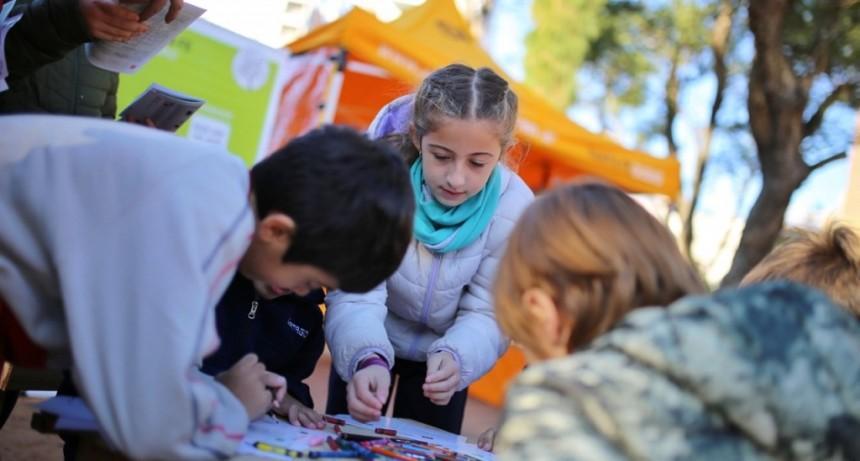 Juegos y talleres con escuelas por el Día Mundial del Medio Ambiente