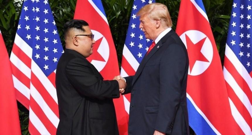 Donald Trump y Kim Jong-un se reunieron en Singapur