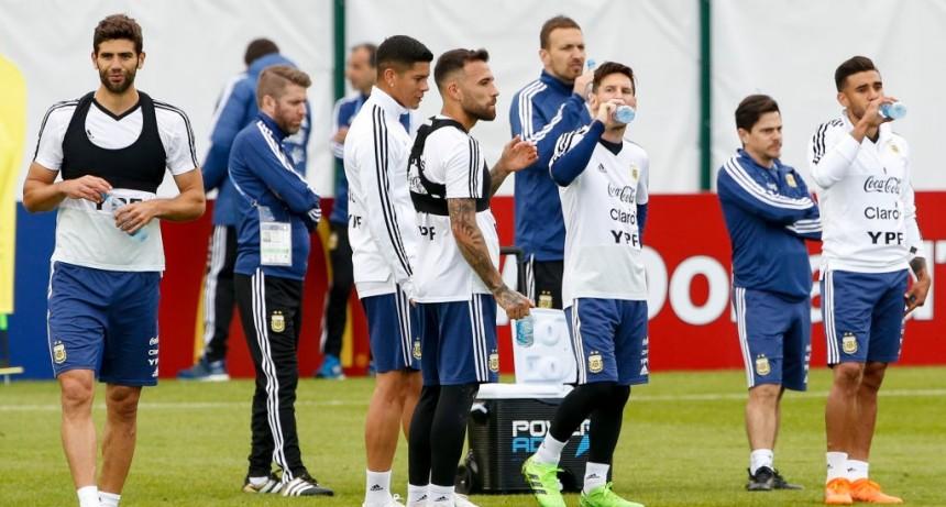 Sorpresivo control antidoping en la concentración de la Selección Argentina