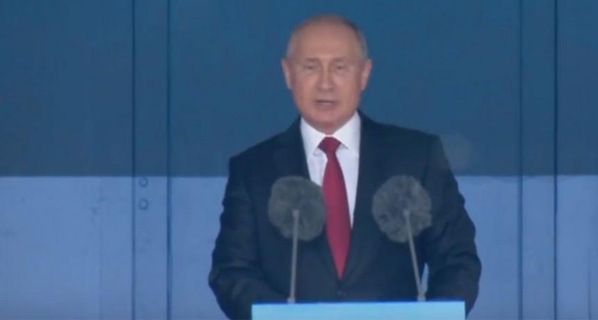 El discurso de apertura de Vladimir Putin