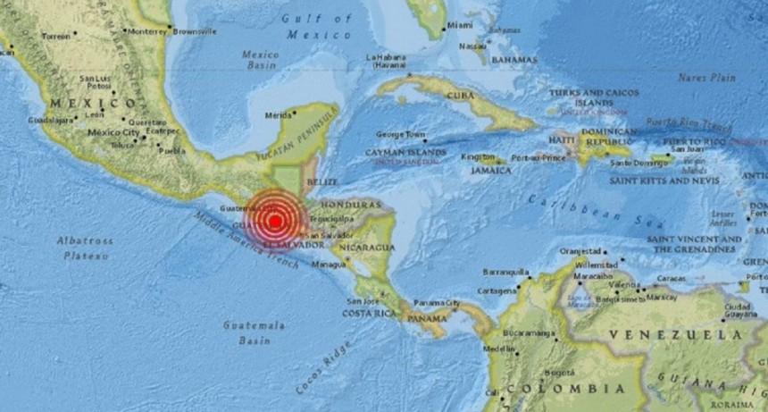 Fuerte temblor en varias regiones de Guatemala