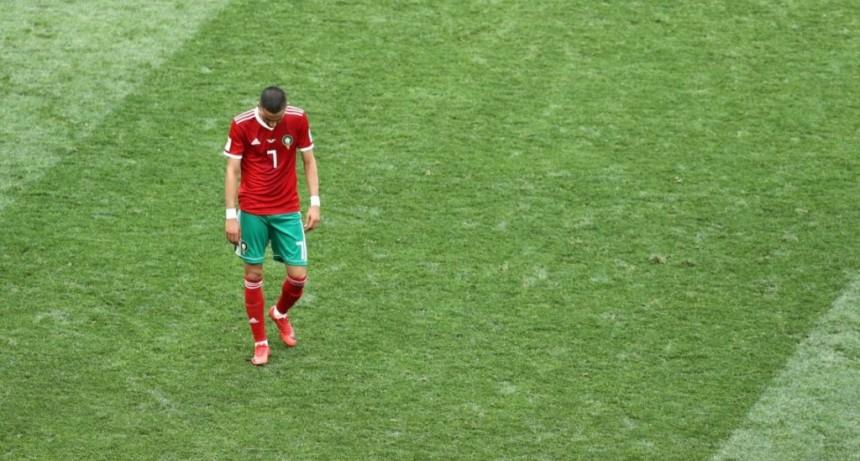 Marruecos, el primer eliminado del Mundial de Rusia