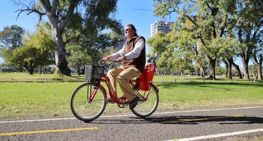 Avanzan los trabajos en la red de ciclovías y bicisendas en la ciudad