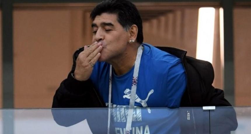 El saludo de Maradona a Lionel Messi por su cumpleaños