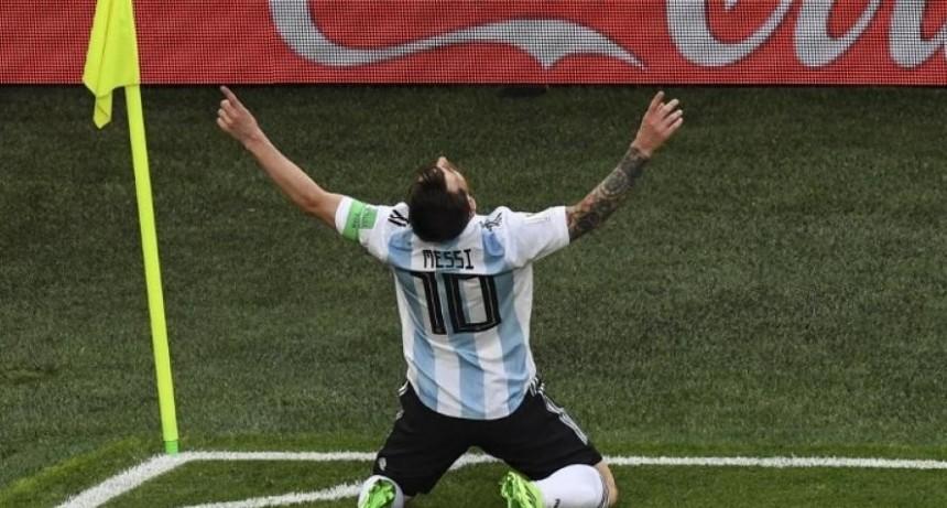 Argentina le ganó a Nigeria y está en octavos de final