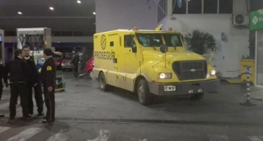 Violento intento de asalto a un camión de caudales en Rosario