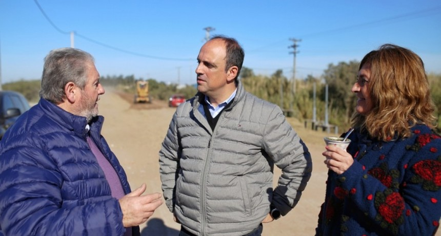 Trabajo conjunto para mejorar la conectividad entre Santa Fe y Monte Vera