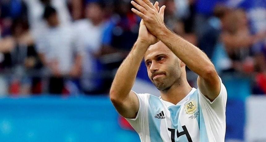 Mascherano se va de la Selección Argentina