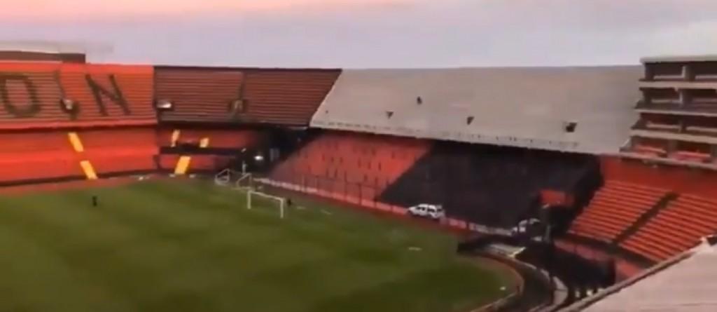 Se cerró el anillo del Estadio de Colón