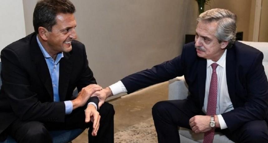 La primera imagen de la unidad entre Alberto Fernández y Sergio Massa