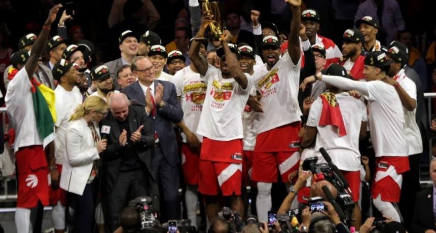 Toronto consiguió su primer título en la NBA