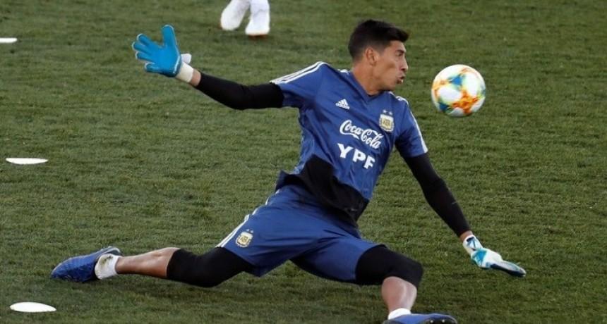 Esteban Andrada fue desafectado de la lista de la Copa América