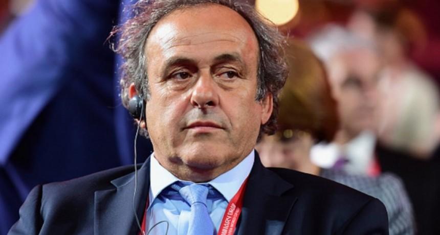 Detuvieron a Michel Platini por presunta corrupción en la adjudicación del Mundial de Qatar