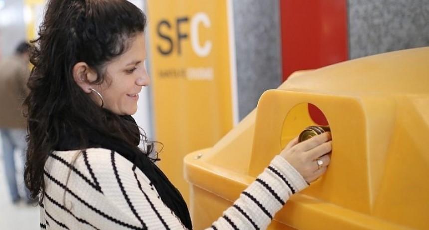 Nuevas campanas amarillas para recolectar y reciclar aluminio