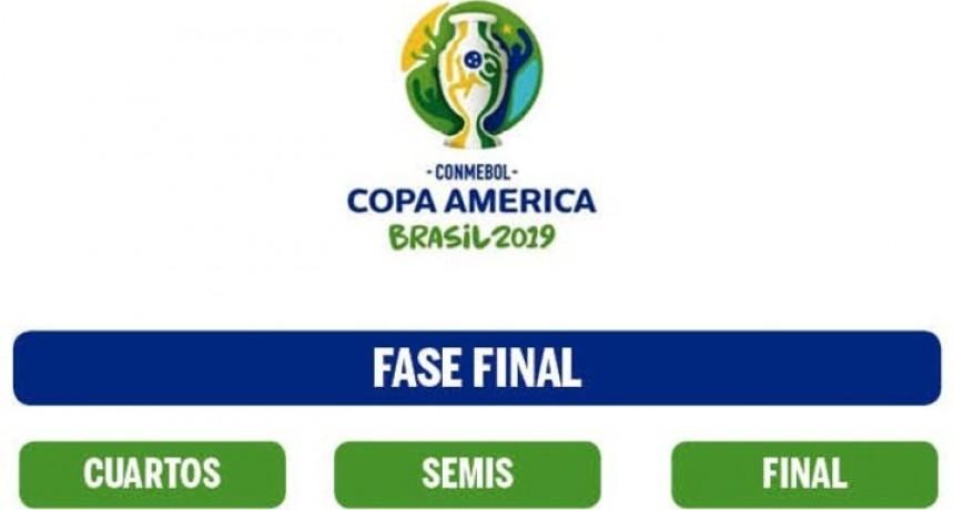 Así quedaron los cuartos de final de la Copa América