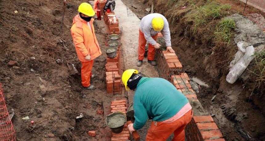 La provincia reactivó las obras en la Ruta Provincial N° 1
