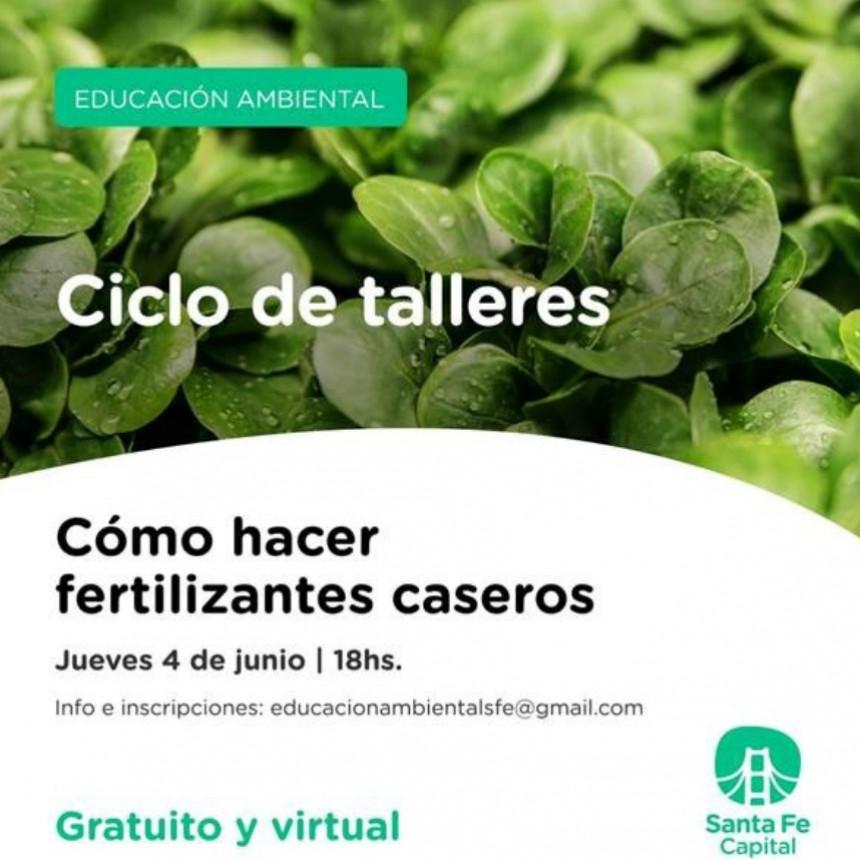 En la Semana del Ambiente, invitan a una charla virtual sobre fertilizantes caseros