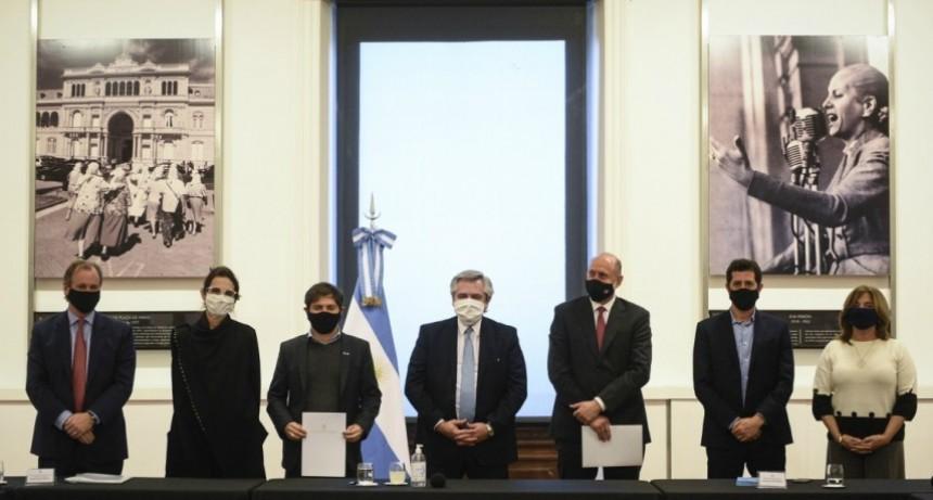 Perotti firmó un acuerdo de colaboración con la Nación para dinamizar la obra pública y privada y las industrias relacionadas con la construcción
