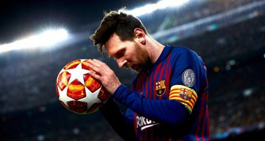 Lionel Messi se sumó a la campaña contra el racismo